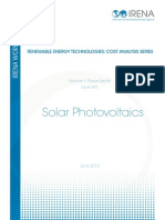 RE Technologies Cost Analysis-SOLAR PV[1]