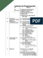 Topicos Selectos Programacion ISC