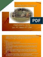 (PPt) Materi 2. Proses Kerja Bubut (Turning)