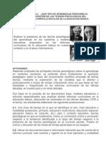 SITUACIÓN DIDÁCTICA 2 -¿QUÉ TIPO DE APRENDIZAJE PRESCRIBE EL CURRÍCULO (1)