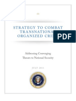 National Strategy for Transnational Organized Crime-2011