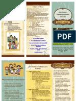 philosophy on teaching brochure