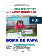 Goma de Papa