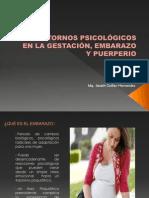 TRASTORNOS PSICOLÓGICOS EN LA GESTACIÓN, EMBARAZO Y