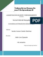 la alfabetizacion bilingûe y empoderamiento
