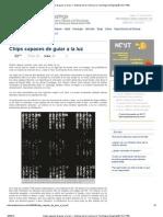 Chips capaces de guiar a la luz — Noticias de la Ciencia y la Tecnología (Amazings® _ NCYT®)