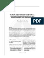 Marketing de Instituciones Deportivas