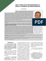 Pasado, Presente y Futuro de Las RRPP