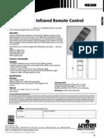 NE200 Infrared Remote Control