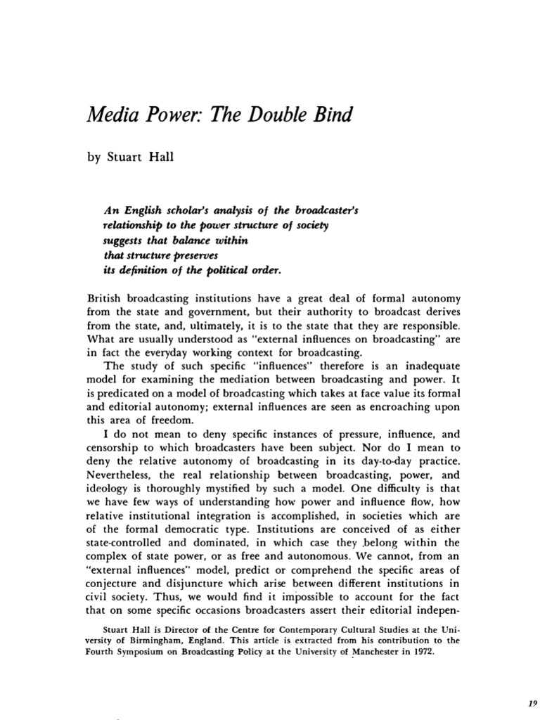 Double bind definition
