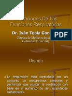 Disnea - Tos - Hemoptisis