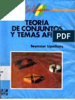 Teoria de Conjuntos y Temas Afines Serie Schaum Symour Lipschutz