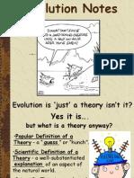 evolutionnotes 2
