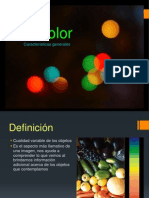 El Color Caracteristicas