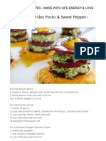 Raw Food Recipes - Made With Life Energy