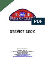 Service Book Rally of Celebes 2013