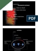 Presentacion - Pensamiento Sistémico, elementos y variables