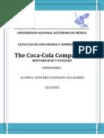 Coca Cola Rentabilidad