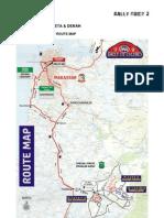 Lampiran B - Peta & Denah Rally Guide 2 Rally of Celebes 2013