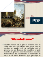 Absolutismo-