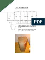 C-Head cardboard mock-up