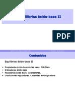 7-Equilibrios Acido Base II