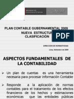 Plan Contable Gubernamental 2009