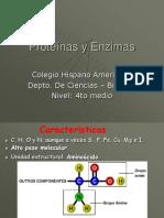 Capítulo 6 Proteínas y Enzimas 4º -2010.ppt