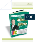 eBook 90 Antes de Invertir