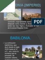 Babilonia (Imperio) Exposicion.