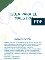 ANÁLISIS  DE LA GUIA PARA EL MAESTRO DE I GRADO