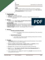 EDEL453 Spring2013 AmyBRANSTETTER Unit 4 Economics DAY 6 - Copy