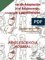 Problemas de Adaptación Social En el Adolescente