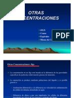 Clases Medios Densos y Equipos Centrifugos USACH