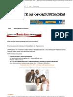 APROVEITE as OPORTUNIDADES!_ Como Funciona Sistema de Renda Extra Da FR Promotora