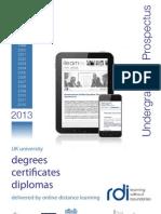 UG Prospectus 2013 (1)