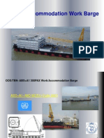 DY-300 Men Accommodation Work Barge