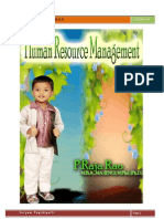 Human Resource Management by Raja Rao Pagidipalli