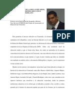 VISIÓN HISTÓRICA DE LA EDUCACIÓN MEDIA DENTRO DEL SISTEMA EDUCATIVO VENEZOLANO