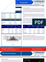 Let's Go For Derivative 29 April 2013  By Mansukh Investment and Trading Solution