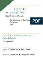 DESAFÍOS DE LA ORIENTACIÓN PROFESIONAL