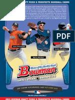 Bowman Draft Picks & Prospects Sell Sheet