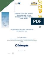 Osinergmin 2009 - Libro Blanco del marco regulatorio de la distribución eléctrica en el Perú