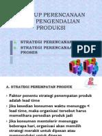 A. Lingkup Perencanaan Dan Pengendalian Produksi