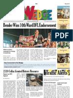 Wedge Neighborhood News May 2013