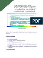 curso de energía solar fotovoltaica-español