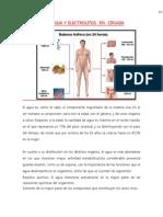 Agua y Electrolitos en Cirugia