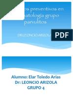 Métodos preventivos en estomatología grupo parvulitos