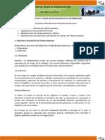 3-2 Documento de Soporte -Actividad 3 - CONCEPTOS Y CLASES DE NECESIDADES DE LA INFORMACIÓN