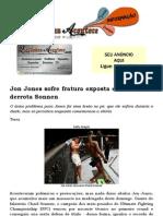 Jon Jones Sofre Fratura Exposta Em Luta, Mas Derrota Sonnen